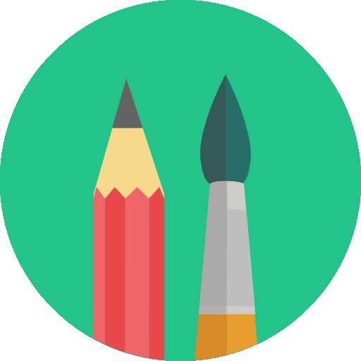 Leistungen draw design vulpeslux icon